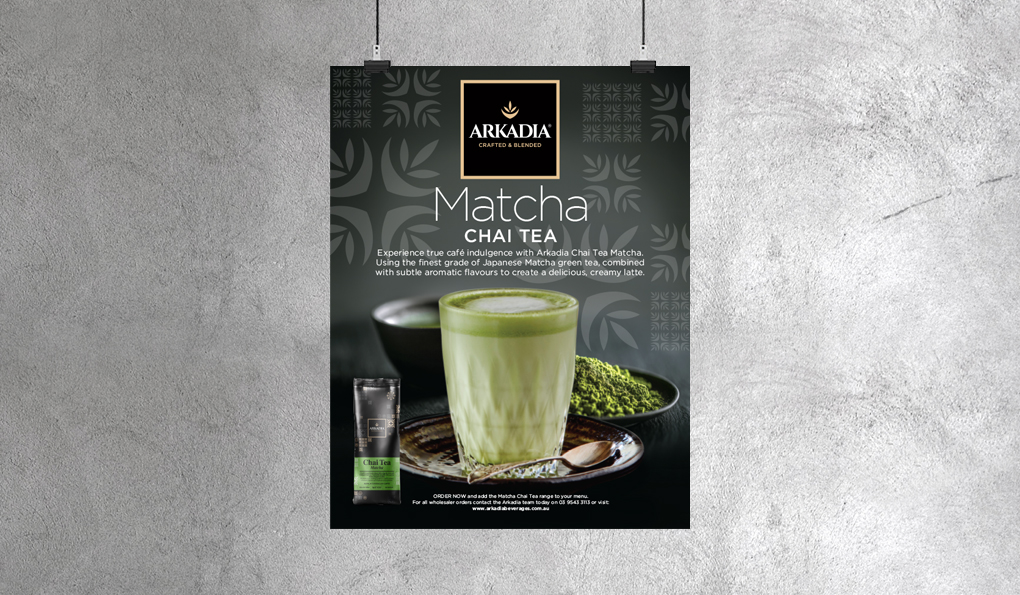 Arkadia Matcha Advertising
