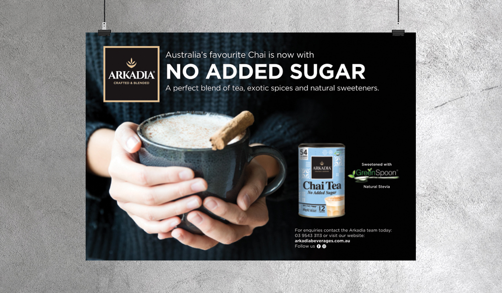 Arkadia Chai Advertising
