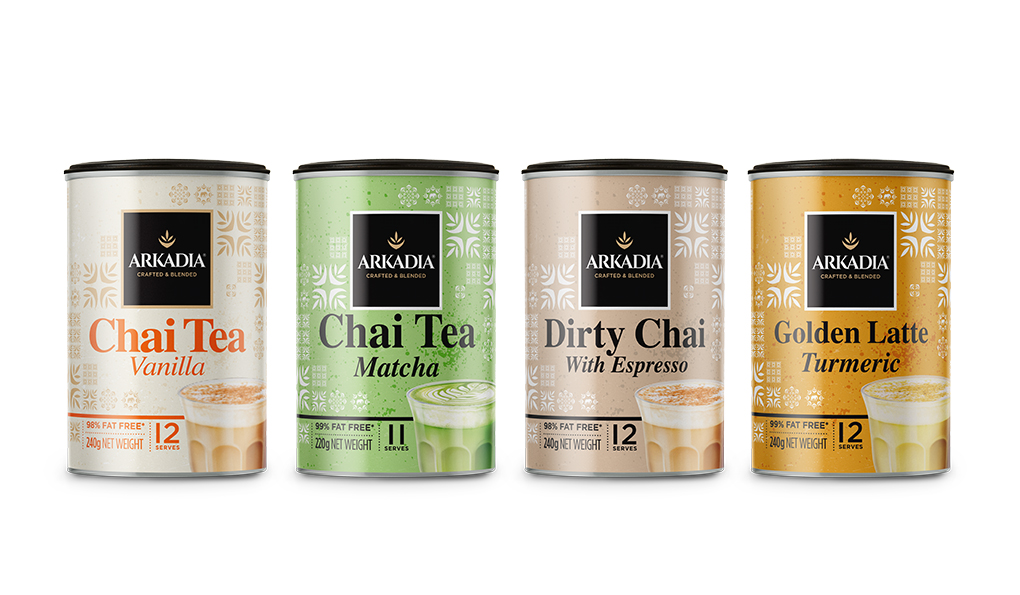 Arkadia Chai 240g Tins - Flavoured