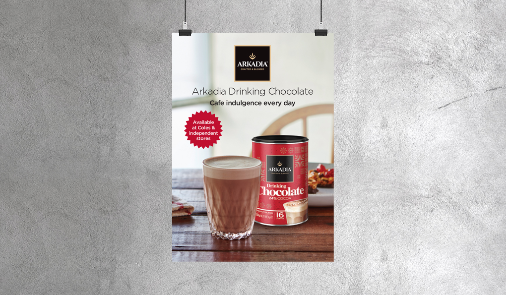 Arkadia Chocolate Advertising
